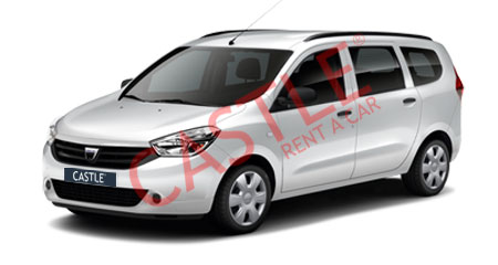 Dacia Lodgy Diesel 7 Person